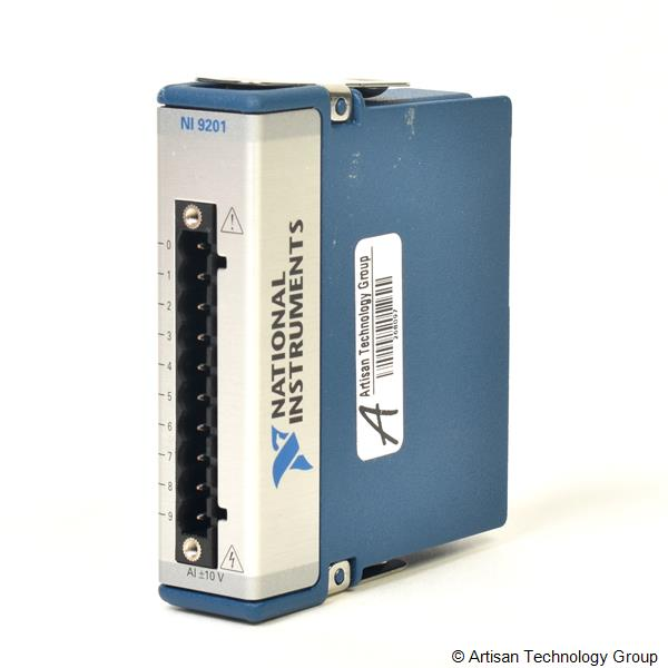 National Instruments NI 9201 8-Channel, 12-Bit C Series Voltage Input Module (Spring Terminal)