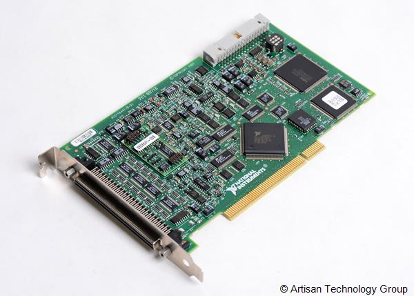 National Instruments PCI-6071E 1.25 MS/s, 12-Bit, 64 Analog Input Multifunction DAQ