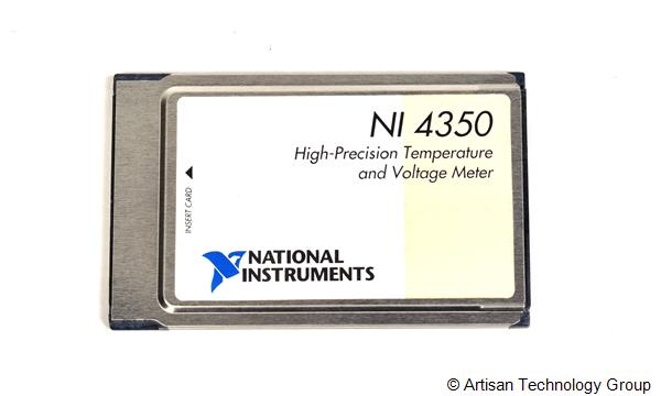 National Instruments PCMCIA-4350 High Precision Temperature and Voltage Meter