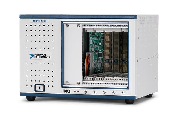 National Instruments PXI-1033 5-Slot PXI Chassis with Integrated MXI-Express Controller