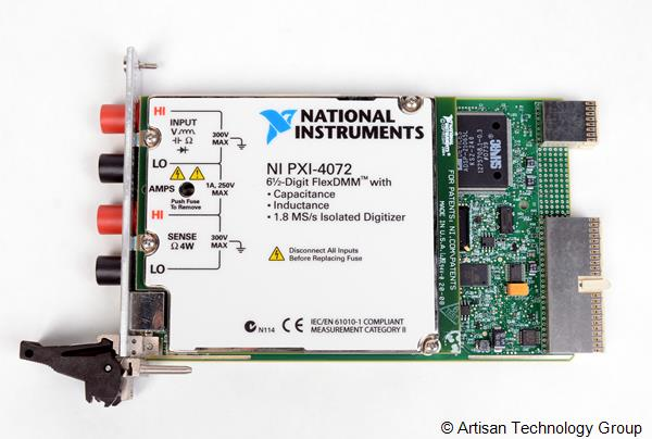 National Instruments PXI-4072 6.5-Digit Digital Multimeter