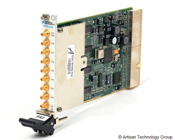 National Instruments PXI-4472B 8-Channel 24-Bit Vibration-Optimized Dynamic Signal Acquisition Module