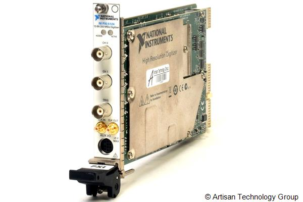 National Instruments PXI-5124 150 MHz 200 MS/s 12-Bit High-Resolution Digitizer (256 MB/Channel)