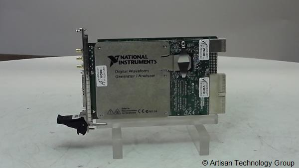 National Instruments PXI-6561 / PXI-6562 LVDS Digital Waveform Generators / Analyzers