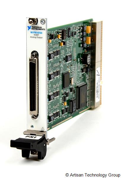 National Instruments PXI-6733 High-Speed Analog Output - 1 MS/s, 16-Bit, 8 Channels Module