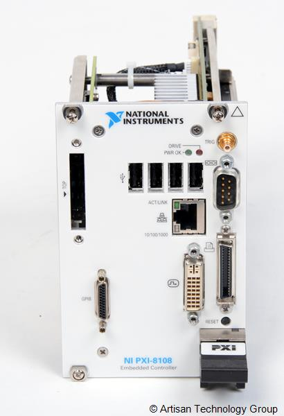National Instruments PXI-8108 2.53 GHz Dual-core Embedded Controller