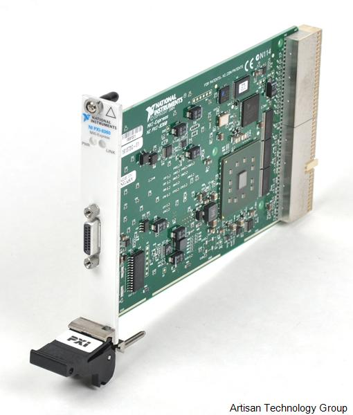 National Instruments PXI-8360 x1 MXI-Express PXI Remote Control Module