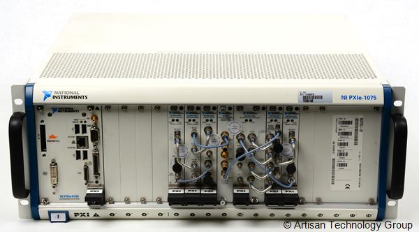 National Instruments PXIe 6.6 GHz MIMO Multichannel RF Signal Generation and Acquisition Test System