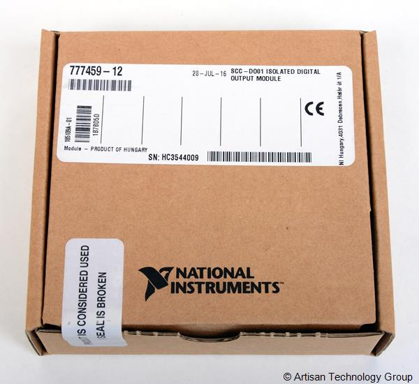 National Instruments SCC-DO01 / SCC-DO Isolated Digital Output Module