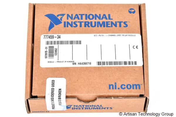 National Instruments SCC-RLY01 1-Channel SPDT Relay Module
