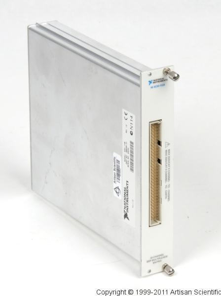 National Instruments SCXI-1128 High-Voltage Solid State Multiplexer/Matrix Switch