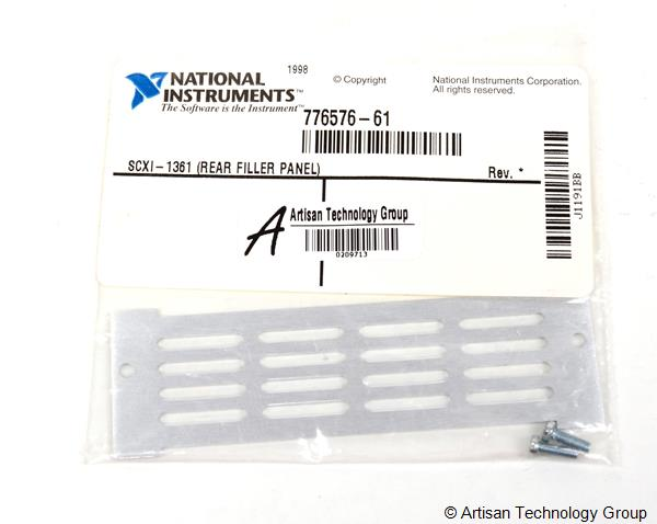 National Instruments SCXI-1361 Rear Filler Panel