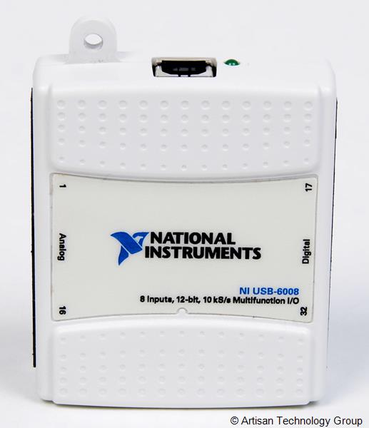 National Instruments USB-6008 12-Bit Multifunction DAQ USB Device