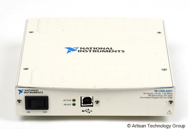 National Instruments USB-6251 Mass Term 16-Bit, 1.25 MS/s M Series Multifunction DAQ