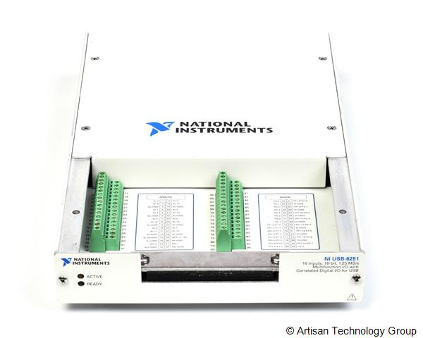 National Instruments USB-6521 Series 16-Bit, 1.25 MS/s M Series Multifunction DAQ