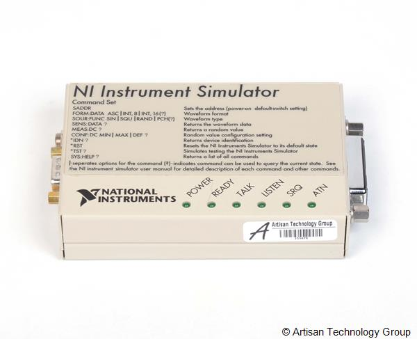 National Instruments NI instrument Simulateur 777369-11