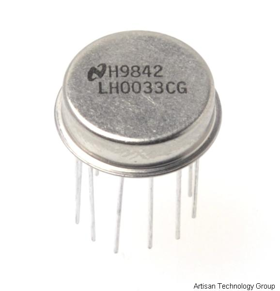 National Semiconductor LH0033CG Fast Buffer