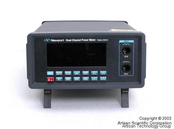Newport 2832-C Dual-Channel High-Precision Optical Power Meter