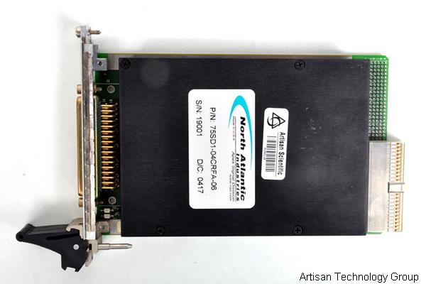 North Atlantic cPCI-75SD1 Eight Synchro/Resolver-to-Digital Tracking Converters