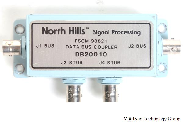 DDC / North Hills DB20010 Box-Type, Multi-Stub Data Bus Coupler