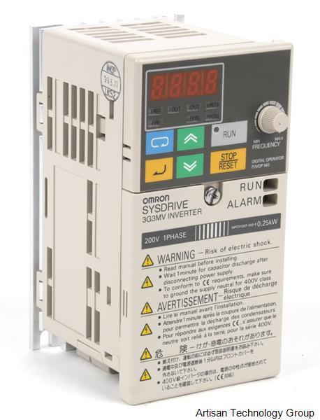 Omron 3g3mv Ab002 Sysdrive Inverter Price Specs
