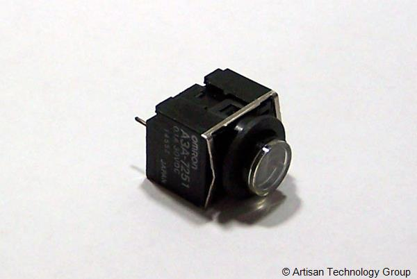 OMRON A3A-7251 Compact High-Capacity Push-Button Switch