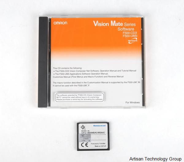 OMRON F500-UM3ME Software Package