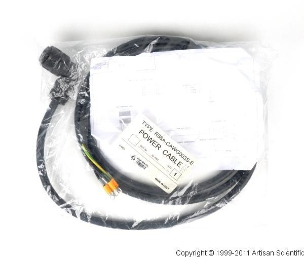 OMRON R88A-CAWD003S-E 3m Power Cable
