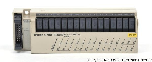OMRON G70D-SOC16-1 Relay Terminal