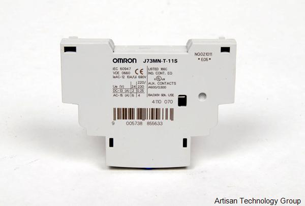 OMRON J73MN-T-11S Auxiliary Contact Side Mounting