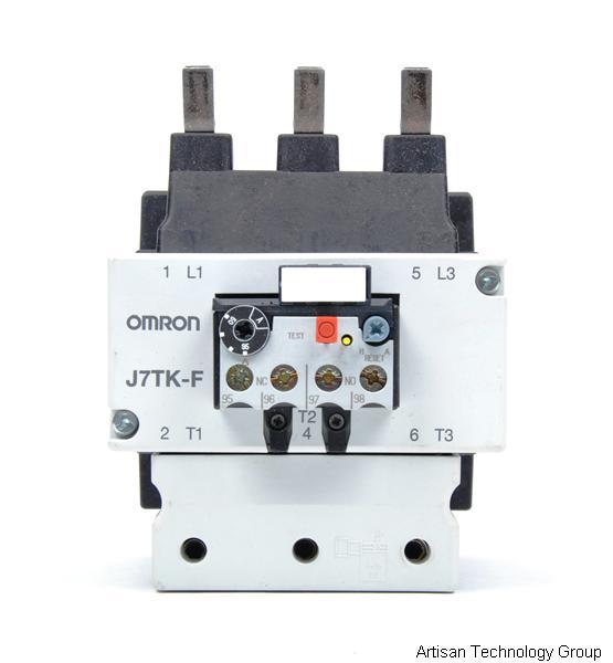 Omron j7tk f 100 gp in stock we buy sell repair price quote Motor overload relay