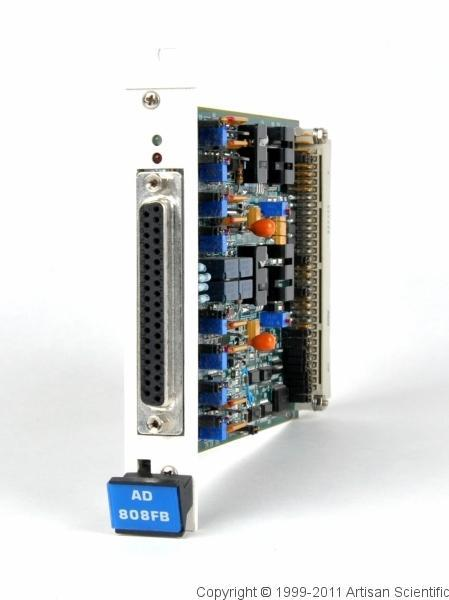 LDS / Optim Electronics AD 808FB 8-Channel Input Module