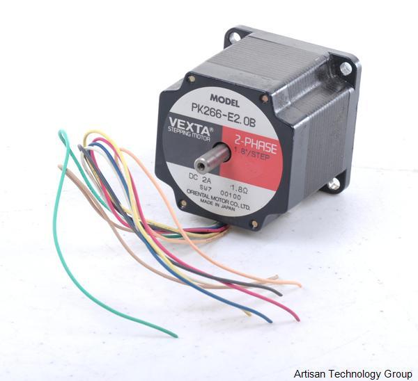 Oriental motor vexta pk266 e2 0b in stock we buy sell Vexta 2 phase stepping motor