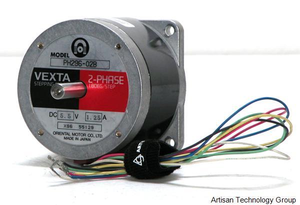 Oriental motor vexta ph296 02b in stock we buy sell Vexta 2 phase stepping motor