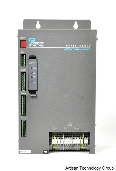 Kollmorgen / Pacific Scientific SC725A Analog Torque/Velocity / Digital Position Command Controller