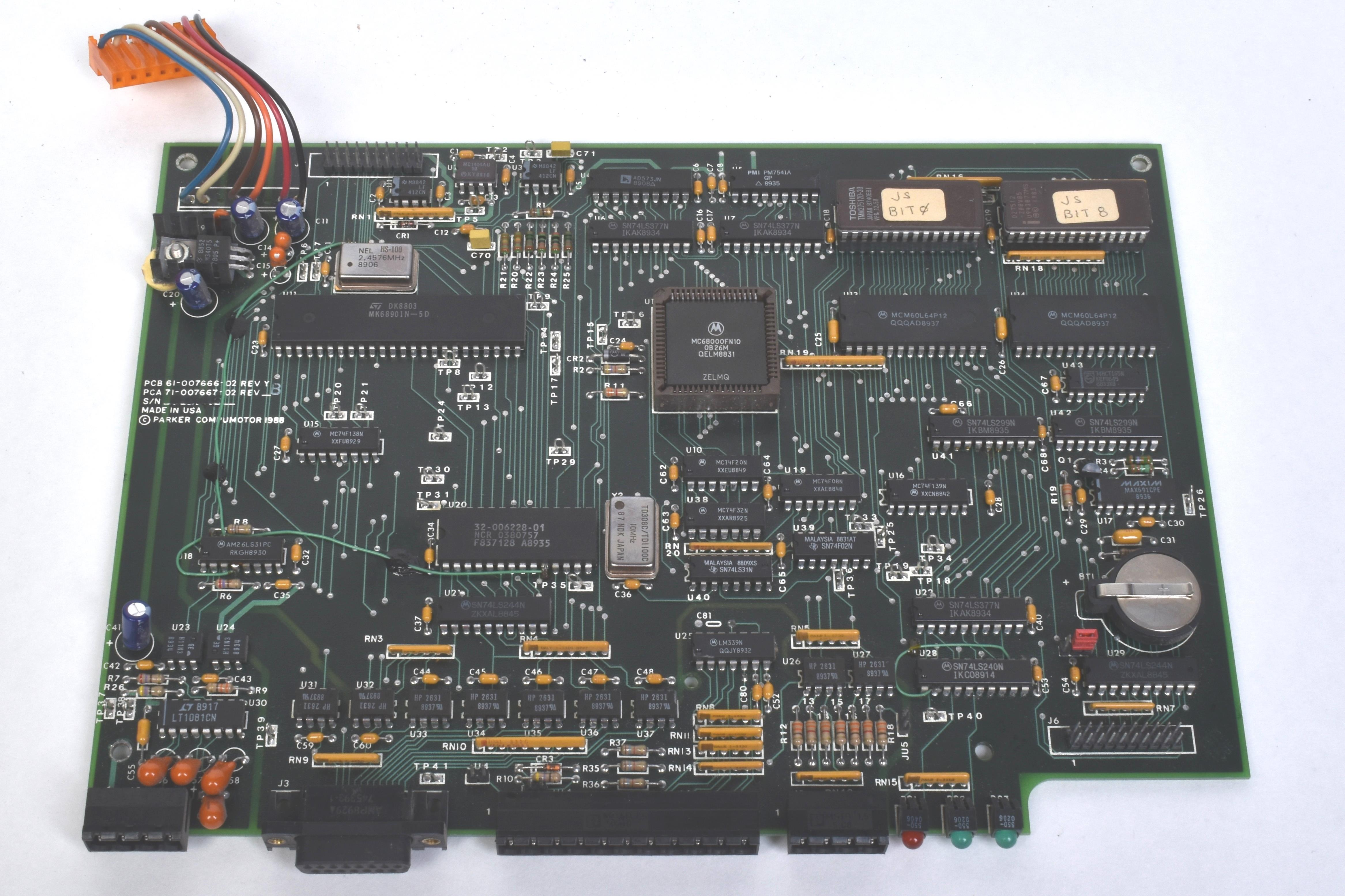 Parker / Compumotor 71-007667-02 Data Board