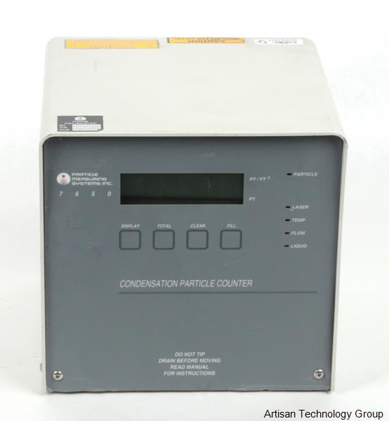 Particle Measuring Systems 7650 Condensation Particle Counter