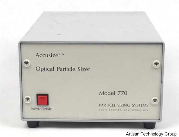 Particle Sizing Systems 770-1 AccuSizer Optical Particle Sizer