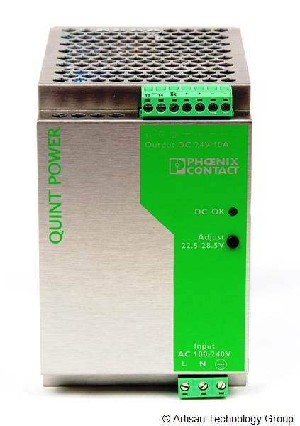 Phoenix Contact Quint-PS-100-240AC/24DC/10 Single-Phase Primary-Switched Power Supply Unit