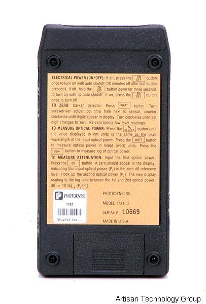 3M//Photodyne 17XT Fiber Optic Power meter*various accessories*