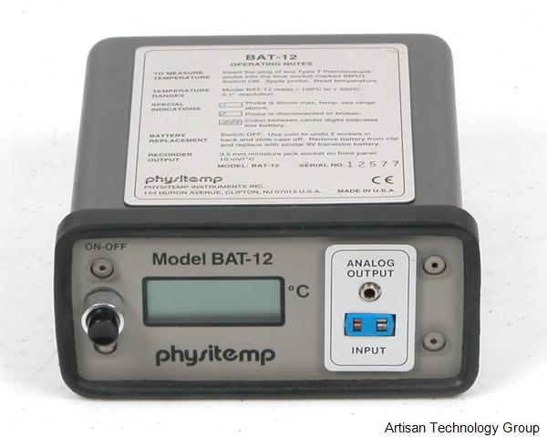 Physitemp BAT-12 Microprobe Thermometer