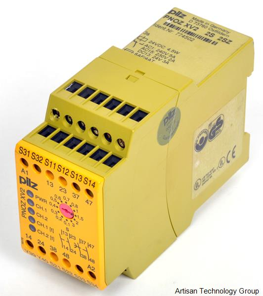 Pilz PNOZ XV2 Emergency Stop Relay