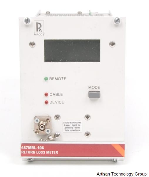 Greenlee / Tempo / RIFOCS 687MRL-106 Return Loss Meter