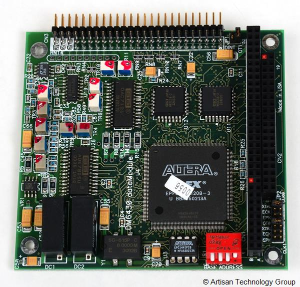 RTD Embedded Technologies DM6430HR-1 16-bit, 100 kHz Analog I/O and Full AT Bus Interface Module