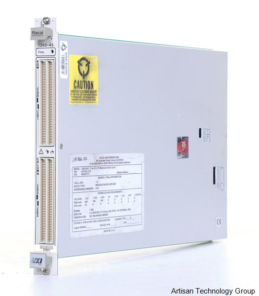 Astronics / EADS / Racal 1260-45A High-Density Switch Matrix (Option 01 or 01T Compatible)