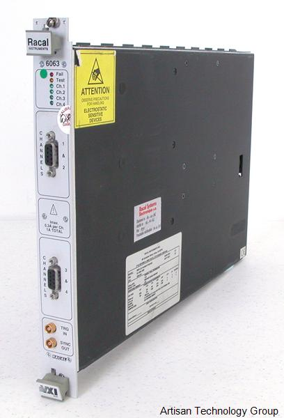 Astronics / EADS / Racal 6063-4 4-Channel High Power Precision Source