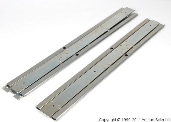 Astronics / EADS / Racal 1261A 24-inch Mainframe Rack Slides