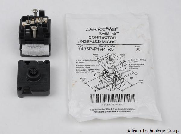 Rockwell / Allen-Bradley 1485P-P1H4-R5 DeviceNet Insulation Displacement Connector