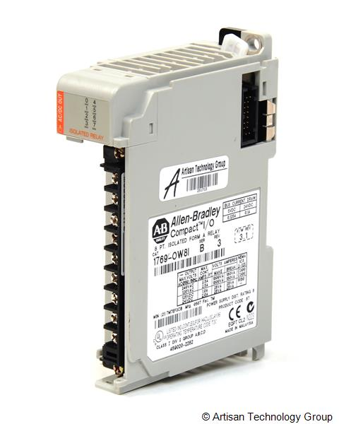 Rockwell / Allen-Bradley 1769-OW8I Compact Individually Isolated 8-Output AC/DC Relay Module