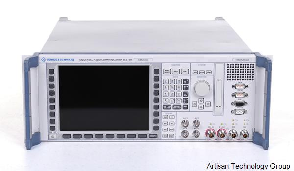 Rohde & Schwarz CMU200 Universal Radio Communications Tester